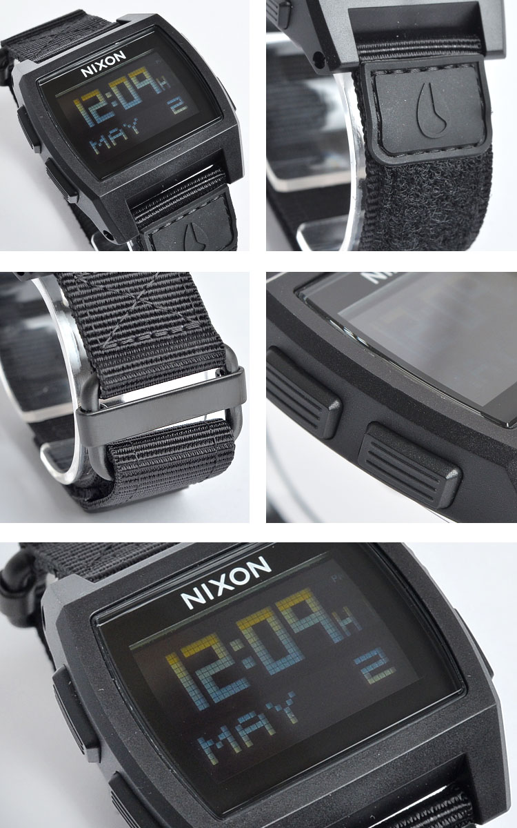 nixon base tide watch manual