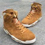"""【直リンクあり!】ナイキ エア ジョーダン 6 レトロ """"ウィート""""が登場!Nike Air Jordan 6 """"Wheat"""""""