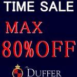 【期間限定】「The DUFFER of ST.GEORGE」対象商品がMAX80%OFFのタイムセールを開催!vol2