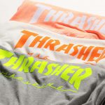 "【先行予約!!】「THRASHER × BEAUTY&YOUTH」""別注"" LOGO LONG SLEEVE TEE/Tシャツが登場!"