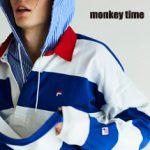 モンキータイム別注!! FILA × monkey time カプセルコレクション2型をご紹介!18SS春夏|フィラ