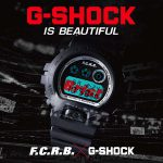 3月24日発売!! F.C.R.B. × G-SHOCK の別注コラボウォッチが登場!Gショック|DW-6900