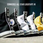 ヒールにロゴテープを配した「コンバース」注目作が18AWモデルに登場!CONVERSE ALL STAR LOGOTAPE HI