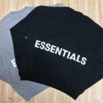 【購入者レビュー】FOG ESSENTIALS  クルーネック スウェットシャツ を買ってみた!サイズ感・パーカー・定価|2019年