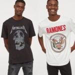 H&M|2019年春夏の新作プリントTシャツで「買うべき5選」はコレだ!メタリカ ラモーンズ  ニルヴァーナ AC/DC