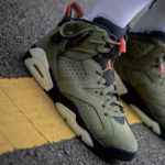 【完全網羅】Travis Scott × Nike Air Jordan 6 Olive が登場!抽選まとめ