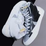 """【第2弾】Nike x sacai より """"新色""""の Blazer Mid 2色が登場!抽選まとめ ブラック ホワイト"""