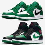 "Nike|Air Jordan 1 Low & Mid ""Pine Green"" 2型が 2月29日(土)発売!抽選まとめ"