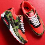 "Nike|atmosが再提案した Air Max 90 ""Reverse Duck Camo"" に熱視線!抽選まとめ"