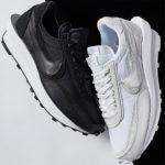 第3弾 sacai × Nikeとのコラボ最新作「LDV Waffle」より新色ホワイト&ブラック/ナイロンが発売!抽選まとめ