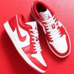 """Nike Air Jordan 1 Low シリーズより """"大注目"""" の新色「Gym Red」が登場!抽選まとめ 4月18日"""