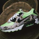 "Nike 名作「ダックカモ」の系譜を継ぐ Air Max 90 ""Green Camo"" が5月23日発売!抽選まとめ"