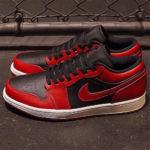 "Nike|名作ブレッドの反転カラーを纏った Air Jordan 1 Low ""Varsity Red"" が発売!抽選 7月1日"