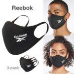 Reebok|洗えて、繰り返し使える フェイスカバー/マスク が9月3日より国内発売開始!2020年 おしゃれ 夏用