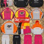 "Supreme|2020AW Week7より ""Fox Racing""とのコラボ全型を事前にチェック!抽選 10月10日"