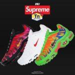 Supreme|Nikeとのコラボ最新作「Air Max Plus」が10月17日発売!2020AW Week8 抽選