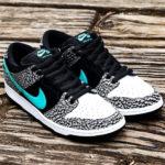 "atmosの名作カラーを踏襲した Nike SB Dunk Low ""Elephant"" が発売!2020年11月11日 抽選"