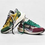 第5弾 sacai × Nike とのコラボ最新作「VaporWaffle」に新色2カラーが追加!2020年12月17日 抽選