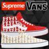 Supreme|Vansとのコラボ「Skate Grosso Mid & Skate Era」が発売!21SS Week17